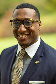 D'Andre Fisher, Associate Vice President for Equity, Diversity and Inclusion