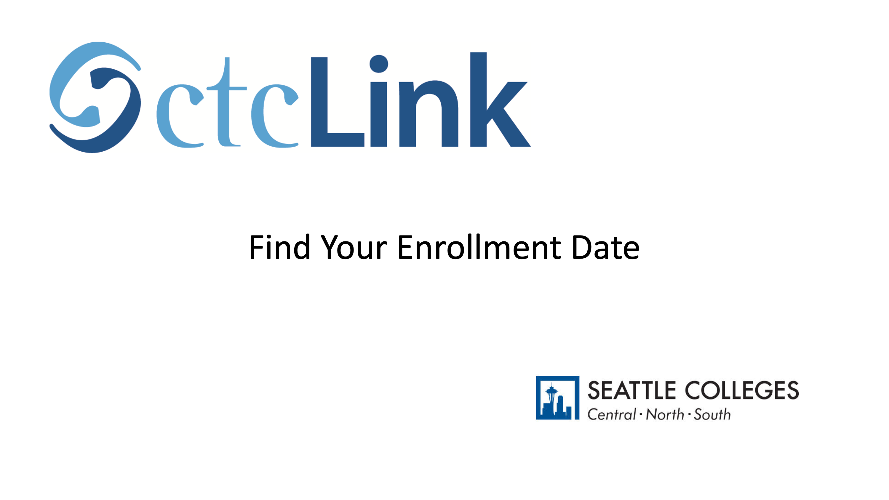Find Your Enrollment Date